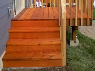 Delicieux Deck Steps